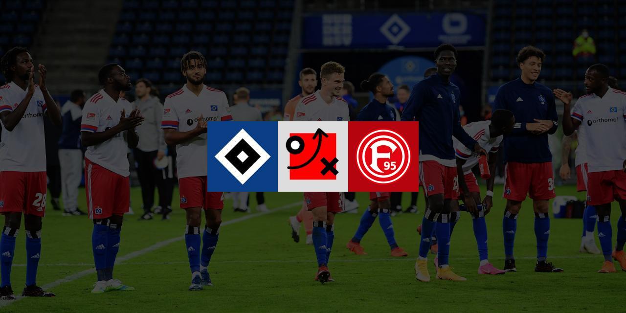 Taktikanalyse HSV - Fortuna Düsseldorf